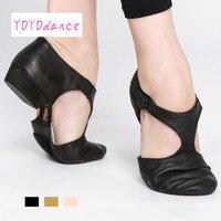Hot Sale Genuine Leather Jazz Dance Sandal Shoes For Child Adult Teachers Professional Sandals Shoes Jazz
