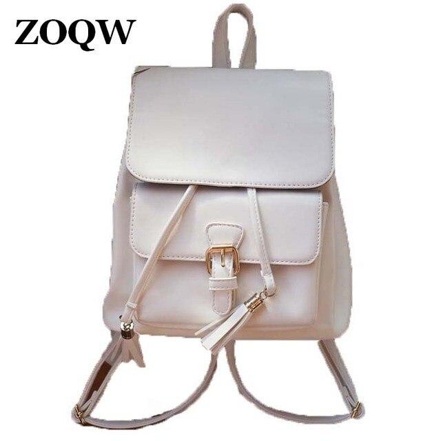 2018 Hot Sale PU Leather Backpack Women Fashion European Style Teenage  Girls School Bag Casual Travel Shopping Backpacks WUJ0392 882701750f