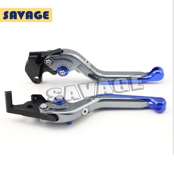For YAMAHA YZF-R25 2014-2015, YZF-R3 2015 Motorcycle Accessories CNC Aluminum Folding Extendable Brake Clutch Levers Blue 6 colors cnc adjustable motorcycle brake clutch levers for yamaha yzf r6 yzfr6 1999 2004 2005 2016 2017 logo yzf r6 lever