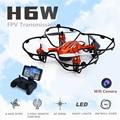 Nuevo 2016 micro uav en tiempo real fpv hd 2mp cámara inalámbrica helicóptero jjrc h6w