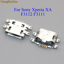 ChengHaoRan For Sony Xperia XA F3112 F3111 micro mini USB 5 pin Charging Port Connector Jack Socket Repair Part replacement(China)