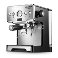 Stainless Steel Italian Coffee Maker espresso coffee machine 15bar home semi automatic pump type coffee machine 1450W
