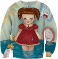 Melanie Martinez Crybaby Sweatshirt Casual Tops Spring Autumn Bubbles Sweats Men Clothing Outfits