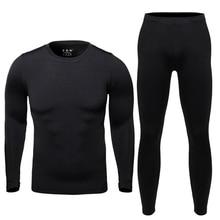 HOT Men'S Outdoor Sport Hot-Dry Skiing Winter Warm Long Jersey & Fitness Thermal Underwear