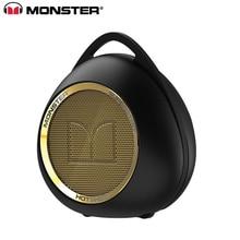 Monster SUPERSTAR HOTSHOT Wireless Bluetooth Speaker Enceinte De Som Stereo Altavoz Soundbar Waterproof Speaker with Mic гарнитура monster isport bluetooth wireless superslim green 128652 00
