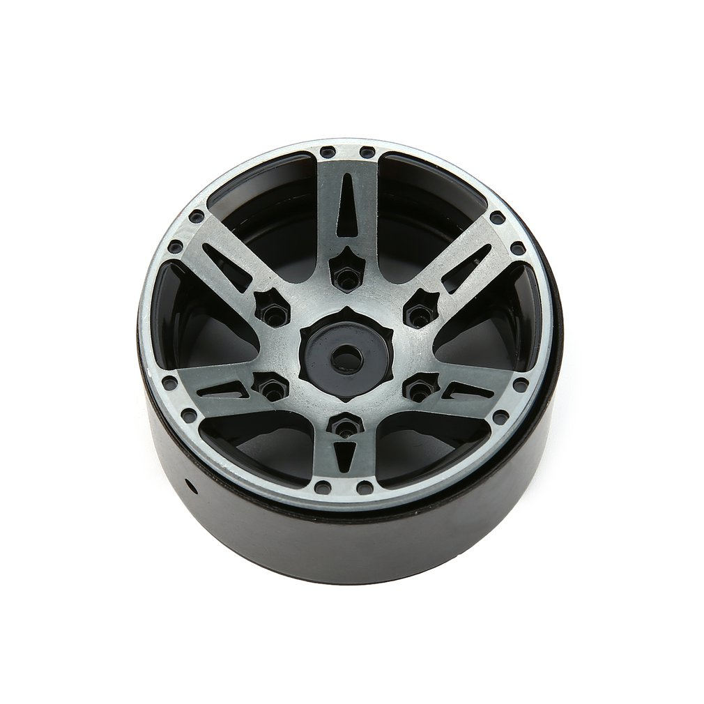 Image 5 - 4pcs T power 1.9 Inch RC Tires Beadlock Alloy Wheels Hub Beadlock Rim Set for 1/10 RC Car RC Component Spare Parts Accessories-in Parts & Accessories from Toys & Hobbies