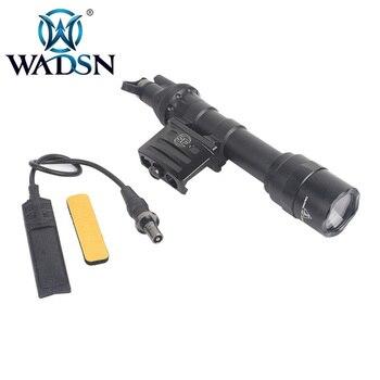 WADSN Tactical Surefir Flashlight M612 Ultra Scout Light wDS07 Switch Assembly & RM45 Offset Mount Torches WEX444 Weapon Lights