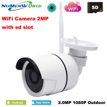 NumenWorld Outdoor Waterproof Wifi IP camera 1080P HD IP Cam Micro SD P2P Wireless network IP webcam IR CCTV Video camera
