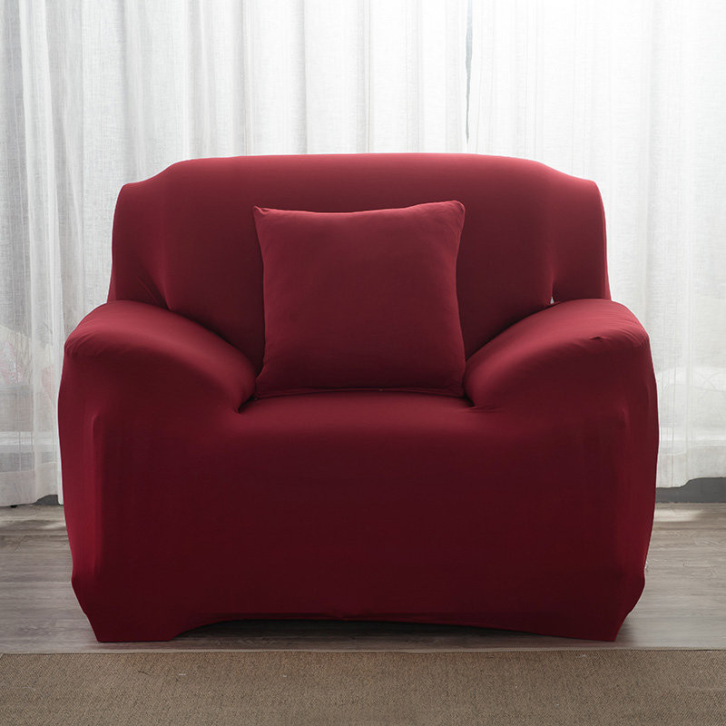 Elastic Sofa Cover Cotton Tight Wrap All-inclusive Sofa Covers for Living Room Corner Couch Cover Armchair Cover 1/2/3/4 Seater