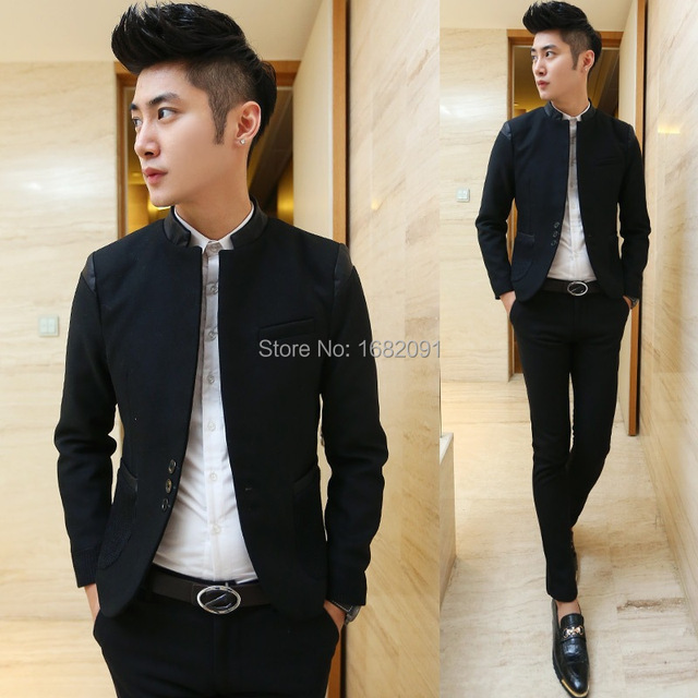 0c940e118696 Teenagers Men Prom Blazers 2015 New Arrival Pattern Sport School Party  Costume Homme Youth Boy Casual Wedding Suit Jacket