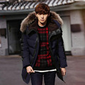 2016 New Casual Fashion Winter Jacket Men Hood Down Coat Parka Brand Clothing Mens Stand Collar Warm Thicken Coats NSWT168