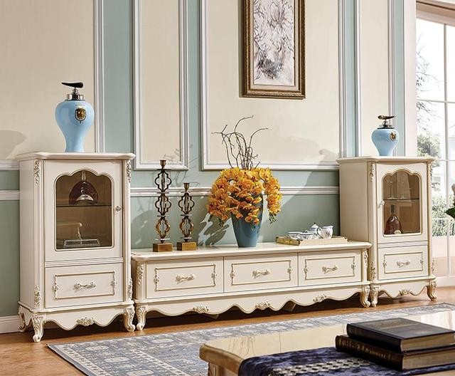 European Style Living Room Furniture, Television Cabinets, Wine Sets / Decorative  Display Cabinets