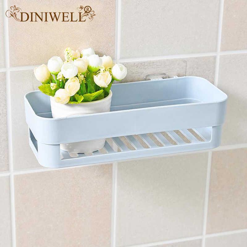 Diniwell полка для ванной комнаты мойка Органайзер Мультифункциональный кухонный настенный держатели для вещей