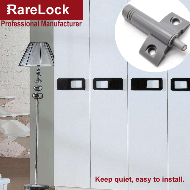 Rarelock D&ing Buffer Light Gray For Furniture Kitchen Cabinet Door Stop Drawer Soft Quiet Close Closer & Rarelock Damping Buffer Light Gray For Furniture Kitchen Cabinet ...