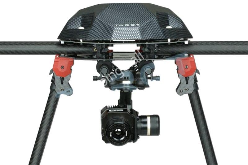 Tarot métal efficace FLIR caméra de cardan d'imagerie thermique 3 axes CNC cardan pour Flir VUE PRO 320 640PRO TL03FLIR 50% OFF - 2