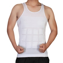 hot men shaper vest body slimming tummy belly waist girdle shirt shapewear underwear 7644