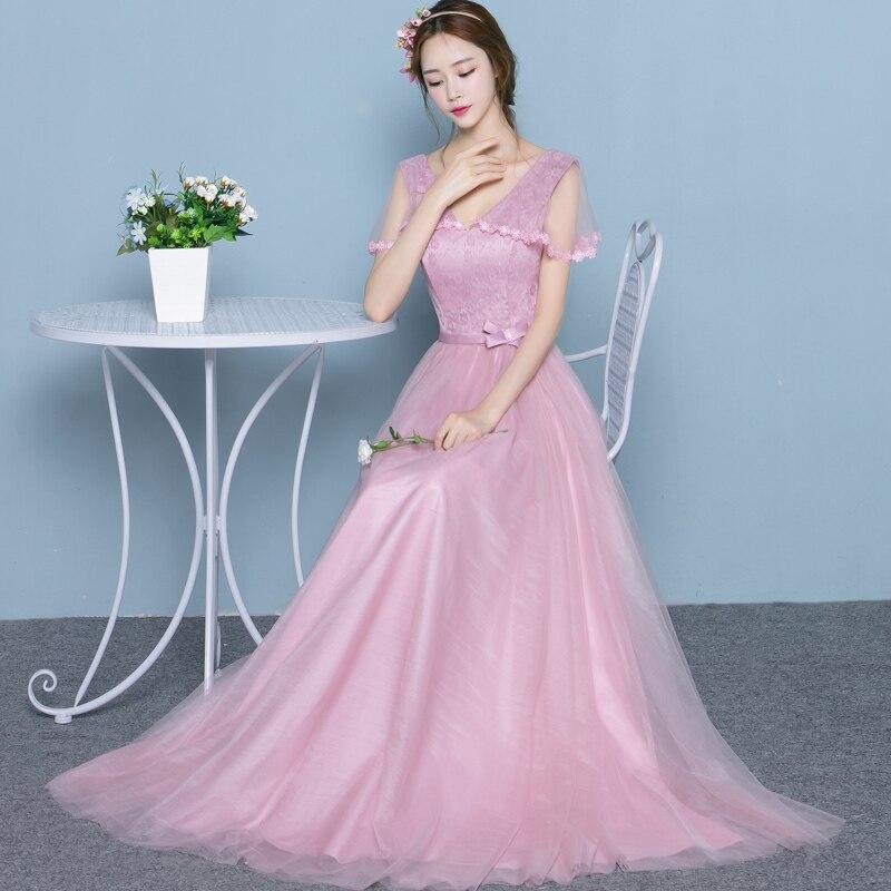 2017 New Bridesmaid Dresses Plus Size Stock Cheap Purple Pink Long