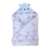98*98cm Baby Stroller Sleeping Bag 3 Colors Cartoon Bear Fall Winter Warm Sleepsacks Newborn Envelope For Kids Boys Girls Pram