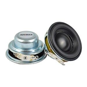 Image 5 - Aiyima 2 Pcs 5W 40 Mm Mini Audio Draagbare Luidsprekers 16 Core 4Ohm Full Range Speaker Rubber Side Ndfeb magnetische Luidspreker