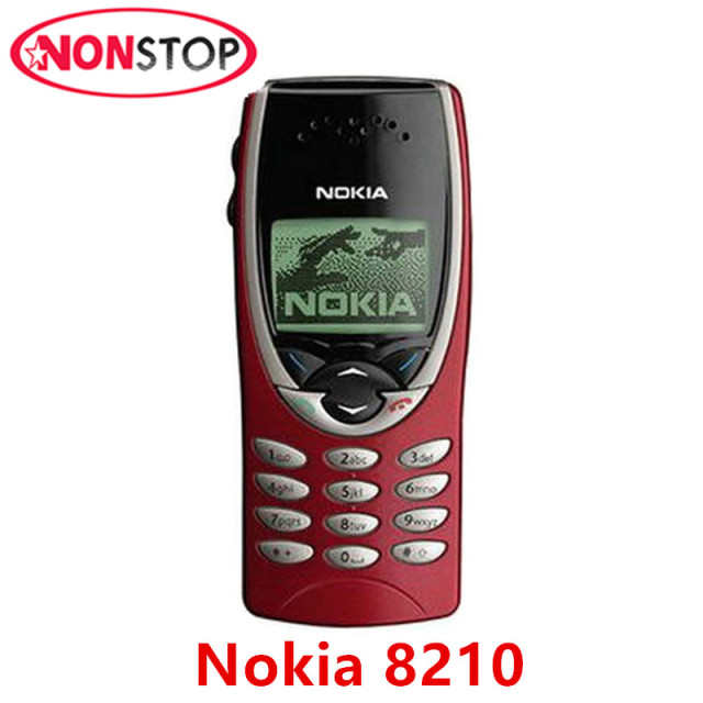 8210 d bloqu original nokia 8210 gsm 2g mobile t l phone. Black Bedroom Furniture Sets. Home Design Ideas