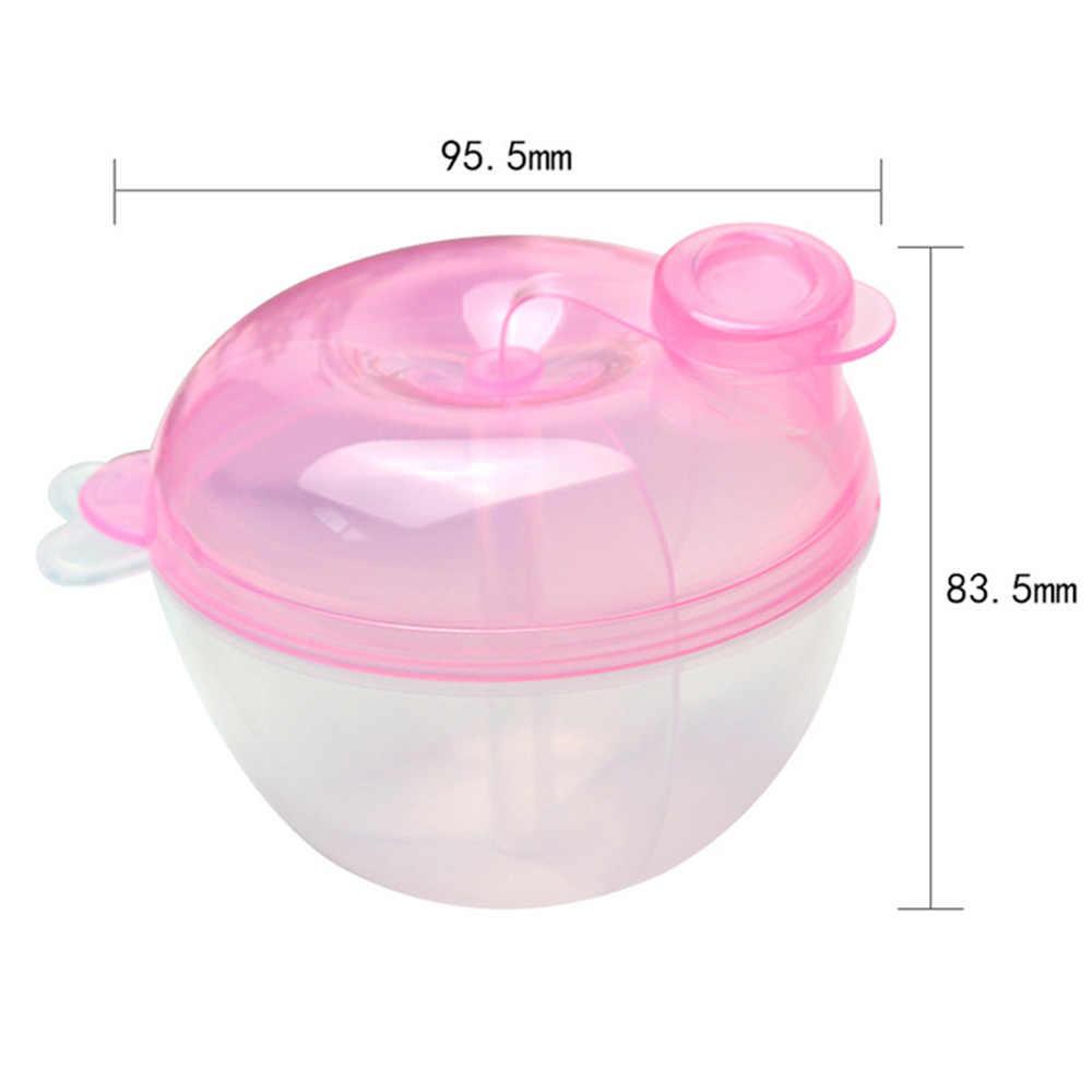 Baby Milk Powder Formula Dispenser Food Container Storage Feeding Box 3 Layer Leakproof Travel Storage Box For Kids Toddler