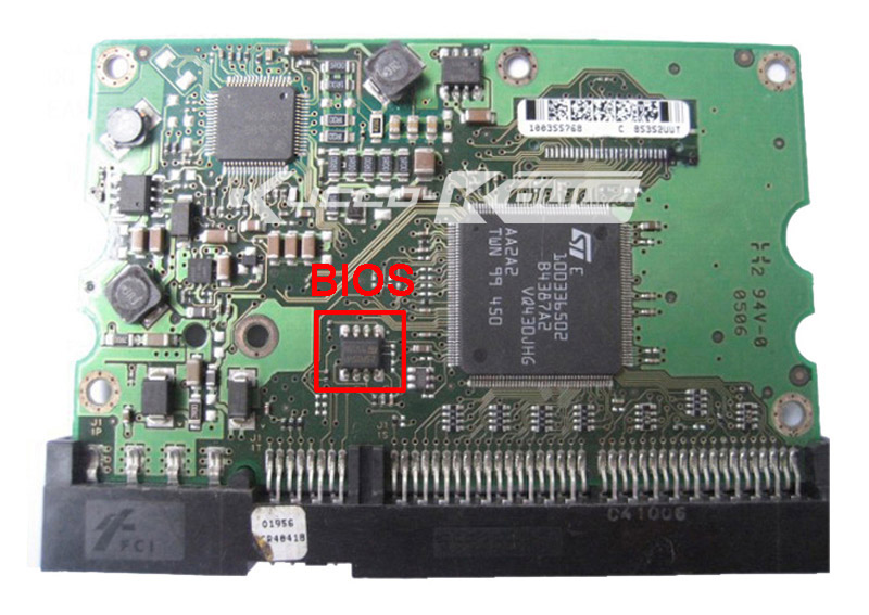 hard drive parts PCB logic board printed circuit board 100368175 for Seagate 3.5 IDE/PATA hdd data recovery hard drive repair