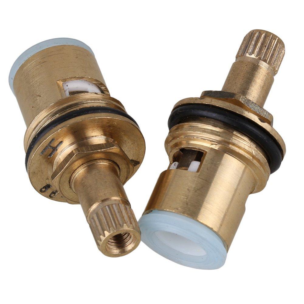 Brass tap ceramic disc cartridge valve core faucet