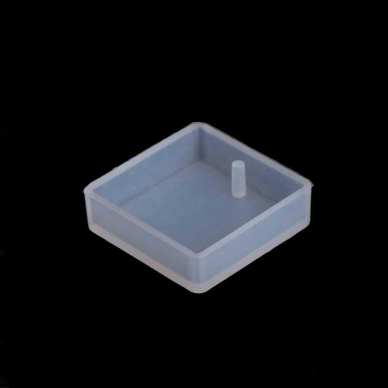 5pcs DIY ซิลิโคนเรซินแม่พิมพ์สำหรับสร้อยคอเรซิ่นเครื่องประดับทำจี้เครื่องประดับเครื่องมือ UV เรซิ่น