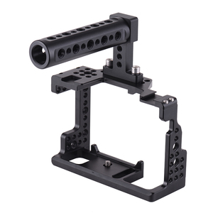 Image 4 - Andoer Video Film Movie Making Stabilizer Top Handle Camera Cage for Sony A7II/A7III/A7SII/A7M3/A7RII/A7RIII Camera