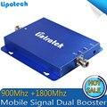 Teléfono celular Amplificador de Señal GSM 900 4G LTE 1800 Verizon 2G 4G repetidor Del Teléfono Celular Amplificador de 65dB Doble Banda Repetidor Celular