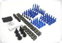 Motorcycle parts fairing windshield body bolt nut fastening kit for SUZUKI GSXR1100 GSXR400 GT250 GT550 RG500 RGV250