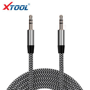 1 m 3.5 Car Audio Cable for Phone/Car Radio Male to Male Jack Auto Car Cable