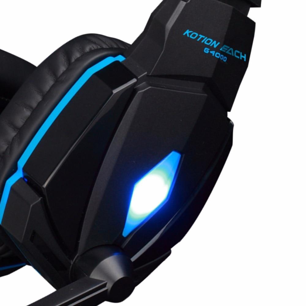 KOTION EACH Originaal Gaming-peakomplekt Deep Bass Stereo Game - Kaasaskantav audio ja video - Foto 4