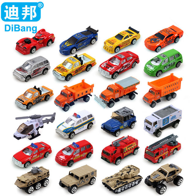 4pcs Box Hot Sales 24 Style Mini Boy Toys Cars Juguetes Car Toy