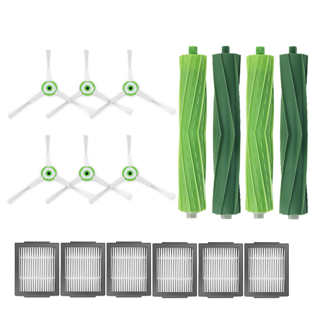 Roller Brush Filter Side Brush Kits For IRobot Roomba I7 I7+ / I7 Plus E5 E6 E7 Vacuum Cleaner Robot Parts