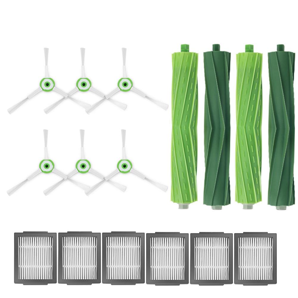 Roller Brush Filter Side Brush Kits For IRobot Roomba I7 I7+ / I7 Plus E5 E6 E7 Vacuum Cleaner Robot Parts