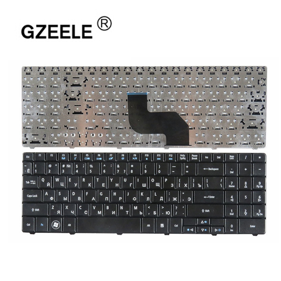 GZEELE Russian Laptop Keyboard For Acer Emachines E735 G430 G525 G625 G627 G630 G630G G725 RU Layout Black Keyboard