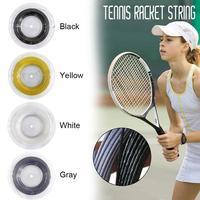 Tennis Racket Strings Polyester Alu Power Rough 1.25 200m/reel 4 Colors