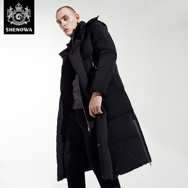 2018 new winter and autumn men long   down     coats   jackets fashion