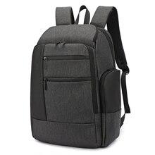 Купить с кэшбэком 17'' laptop Smart Business Backpack Men Travel Bags Waterproof USB Charging Bagpack Male Anti-theft Back Pack Mens Black Outdoor