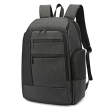 Laptop Business Male Backpack Men Travel 15.6 Bags Waterproof USB Charging Bagpack Anti-theft Back Pack Mens Black Outdoor