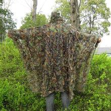 Плащ, одежда для охоты, новинка, 3D, кленовый лист, Bionic Ghillie Yowie sniper birdwatch, страйкбол, камуфляжная одежда, куртка
