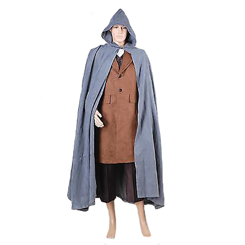 d22cbb895b US $99.0 |The Hobbit frodo cos Outfit Suit Cosplay Costume Full Set film  The Lord of the Rings Custom made top+vest+cape+coat+pant on Aliexpress.com  | ...