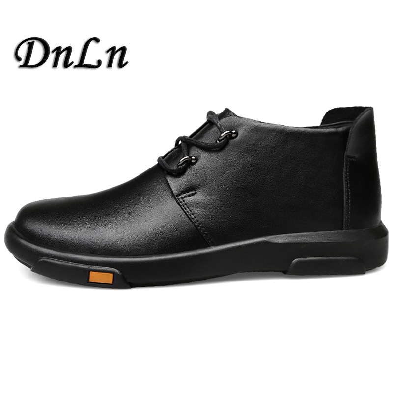 Genuine Leather Men Boots Spring/Autumn Ankle Boots Fashion Footwear Lace Up Shoes Men High Quality Vintage Men Shoes D50 zenvbnv genuine leather men boots spring autumn ankle boots fashion footwear lace up shoes men high quality vintage men shoes