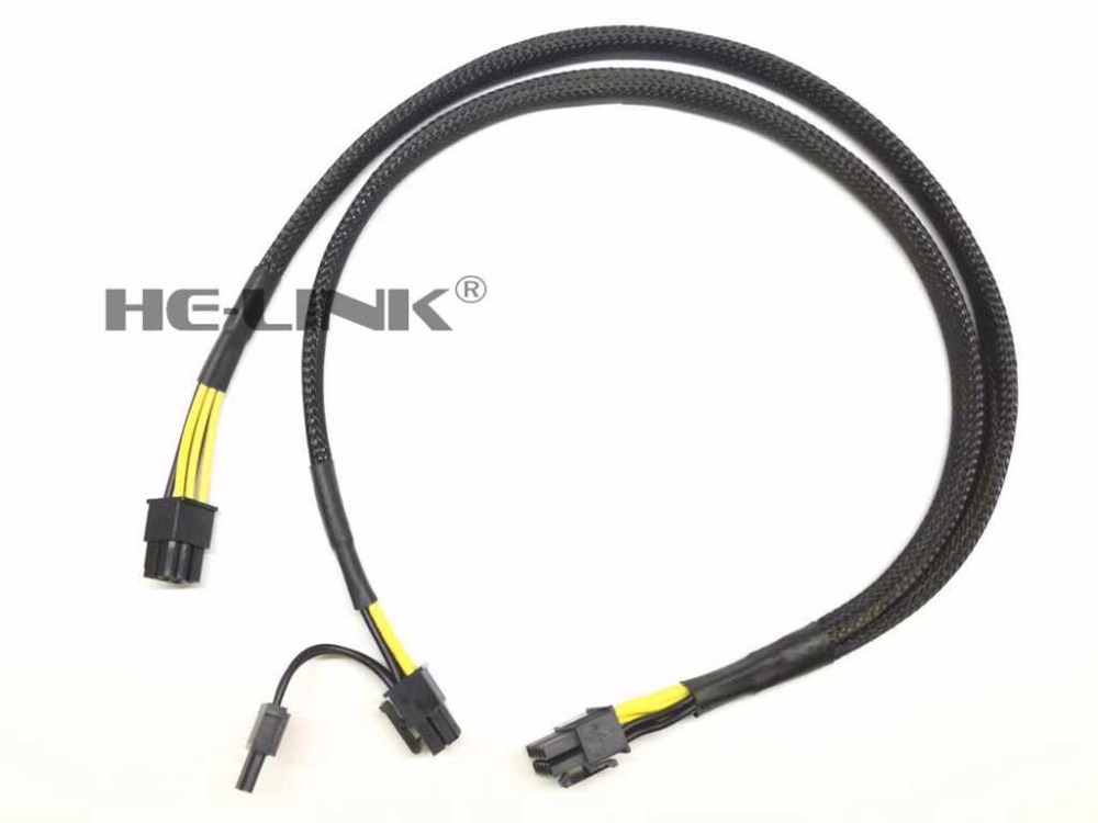 10pin to 8pin Power Adapter Cable for HP DL380 G8 and GPU 50cm