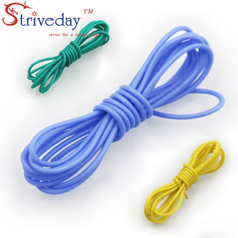 5M 16ft <font><b>13AWG</b></font> Flexible <font><b>Silicone</b></font> Wire RC <font><b>Cable</b></font> 500/0.08TS Outer Diameter 4.0mm 2.5mm Square Model Airplane Wire Electrical Wires image