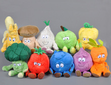 Fruit vegetable plush toy cute plants blueberry Strawberry banana onion Pear tomato stuffed Toy doll kids toys Birthday Gift