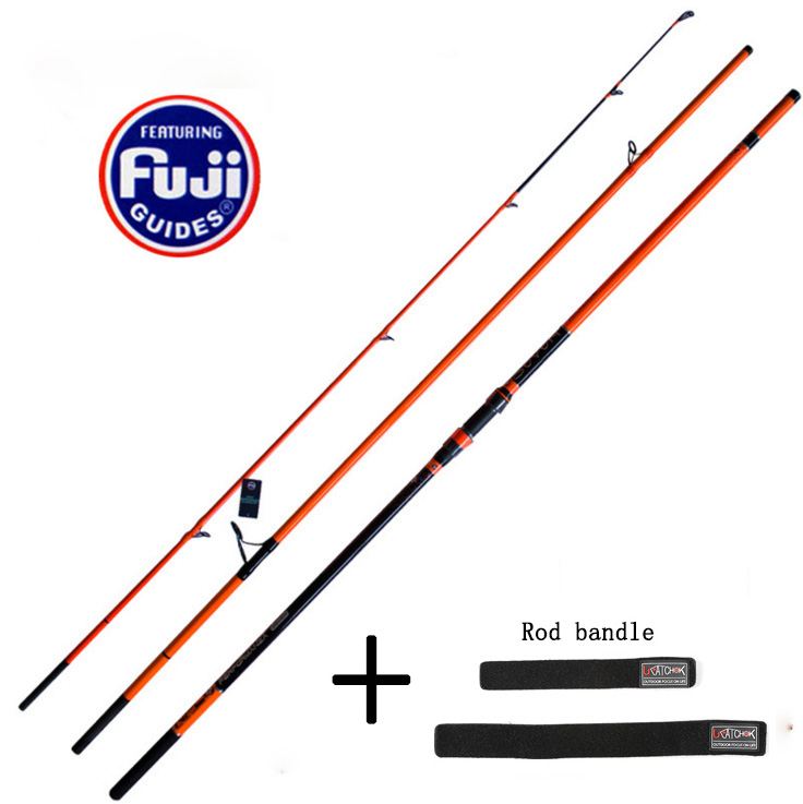 4.5M Full FUJI Parts 180G Lure weight Japan NPC surf Rod high carbon long casting far shot beach disatance throwing fishing rod