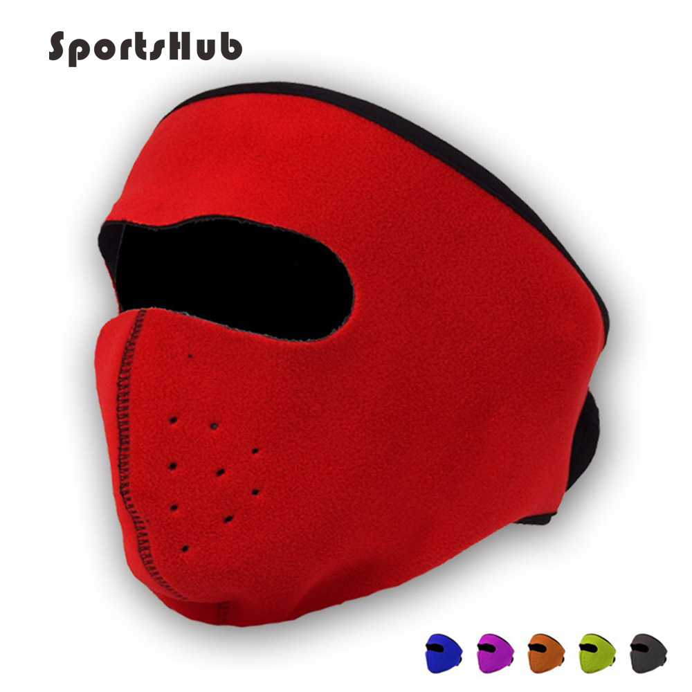 SPORTSHUB Winter Windproof  Outdoor Warmer Polar Fleece Riding/Cycling/Bike/Bicycle Mask Sport Face Mask Skiing Masks NR0124