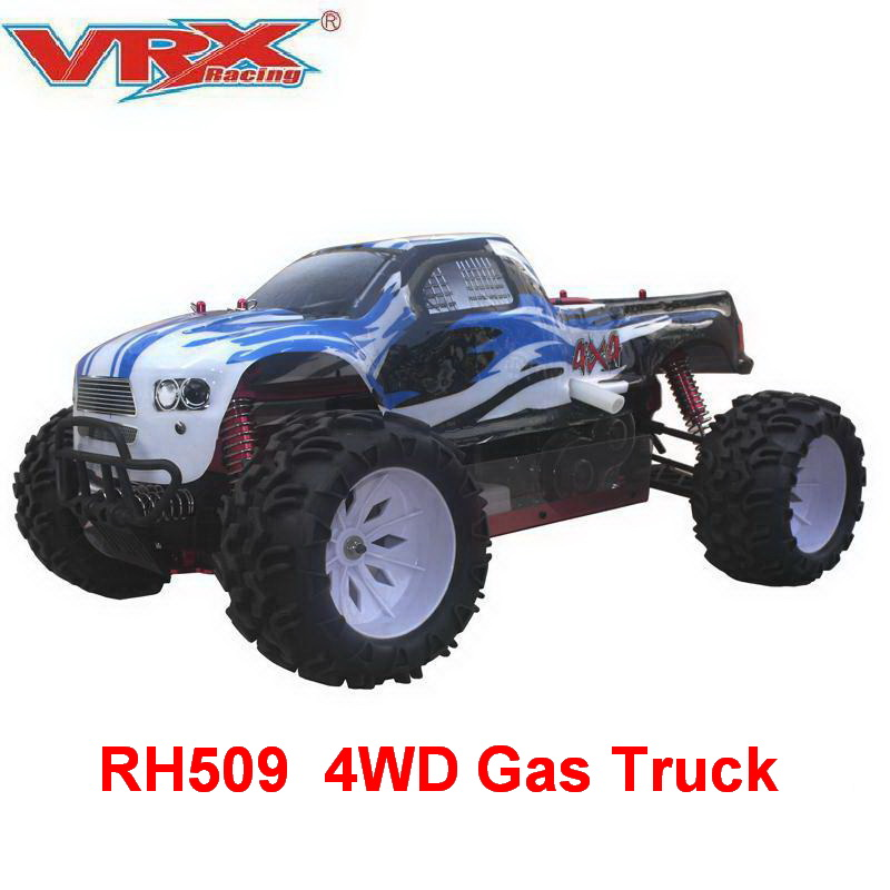 Vrx Racing Rh509 1 5 Scale 4wd Gas Powered Rc Truck With Cn30cc Gasoline Engine Truck High Speed Remote Control Car Rc Cars Aliexpress